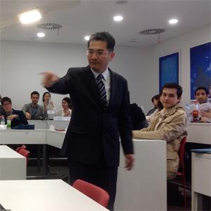 Dr. Tzeng, probably demolishing someone's strategic recommendations